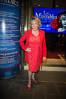 Esther Rantzen at the Les Miserables Gala Press Night at the Sondheim Theatre in London's West End.