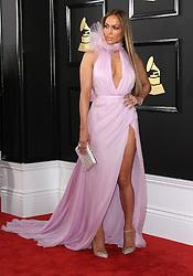 February 12, 2017 - Los Angeles, CA, United States - 12 February 2017 - Los Angeles, California - Jennifer Lopez. 59th Annual GRAMMY Awards held at the Staples Center. Photo Credit: AdMedia (Credit Image: © AdMedia via ZUMA Wire)