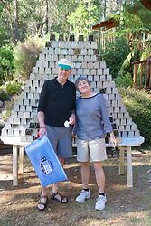 Dick & Jeannette With Elliott Traps