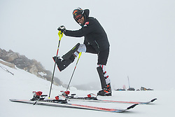 08.10.2013, Moelltaler Gletscher, Flattach, AUT, OeSV Medientag, im Bild Mario Matt // Mario Matt during the media day of Austrian Ski Federation OeSV at Moelltaler glacier in Flattach, Austria on 2013/10/08. EXPA Pictures © 2013, PhotoCredit: EXPA/ Johann Groder