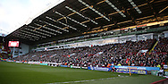 Full house in John Street during the English League One match at Bramall Lane Stadium, Sheffield. Picture date: December 26th, 2016. Pic Simon Bellis/Sportimage