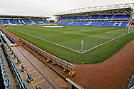 A general view of the Abax Stadium before the The FA Cup 2nd round match between Peterborough United and Bradford City at London Road, Peterborough, England on 1 December 2018.