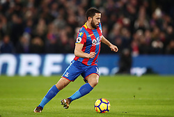 """Crystal Palace's Andros Townsend during the Premier League match at Selhurst Park, London. PRESS ASSOCIATION Photo. Picture date: Thursday December 28, 2017. See PA story SOCCER Palace. Photo credit should read: John Walton/PA Wire. RESTRICTIONS: EDITORIAL USE ONLY No use with unauthorised audio, video, data, fixture lists, club/league logos or """"live"""" services. Online in-match use limited to 75 images, no video emulation. No use in betting, games or single club/league/player publications."""