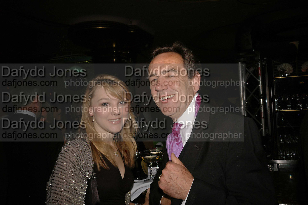 Robert Lindsay and his daughter Syd, Royal Court Theatre 50th Anniversary Gala sponsored by Vanity Fair. Titanic. Brewer St. London. 26 April 2006. ONE TIME USE ONLY - DO NOT ARCHIVE  © Copyright Photograph by Dafydd Jones 66 Stockwell Park Rd. London SW9 0DA Tel 020 7733 0108 www.dafjones.com