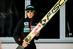 Noriaki Kasai (JPN) at warming up during the Ski Flying Hill Team Competition at Day 3 of FIS Ski Jumping World Cup Final 2019, on March 23, 2019 in Planica, Slovenia. Photo by Masa Kraljic / Sportida