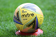 The match ball during the Scottish Premiership match between Rangers and Dundee United at Ibrox, Glasgow, Scotland on 12 September 2020.