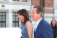 Samantha Cameron, David Cameron, V&A Summer Party 2018, Victoria and Albert Museum, London, UK, 20 June 2018, Photo by Richard Goldschmidt