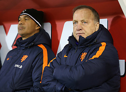 Netherlands manager Dick Advocaat before the International Friendly match at Pittodrie, Aberdeen.