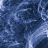 """""""Blowin Smoke in Blue"""" <br /> <br /> A beautiful abstract piece in deep dark blues with swirls of light blue and white!"""
