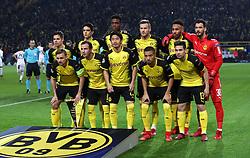Borussia Dortmund Team Group<br /><br />(Top row L - R) Borussia Dortmund's Julian Weigl, Marc Bartra, Dan-Axel Zagadou, Andriy Yarmolenko, Pierre-Emerick Aubameyang and goalkeeper Roman Burki<br /><br />Borussia Dortmund's Marcel Schmelzer, Mario Gotze, Shinji Kagawa, Jeremy Toljan and Raphael Guerreiro