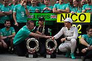 April 10-12, 2015: Chinese Grand Prix - Lewis Hamilton (GBR), Mercedes, Nico Rosberg  (GER), Mercedes