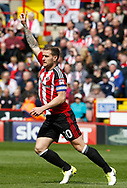 Billy Sharp of Sheffield Utd in action during the English League One match at  Bramall Lane Stadium, Sheffield. Picture date: April 30th 2017. Pic credit should read: Simon Bellis/Sportimage