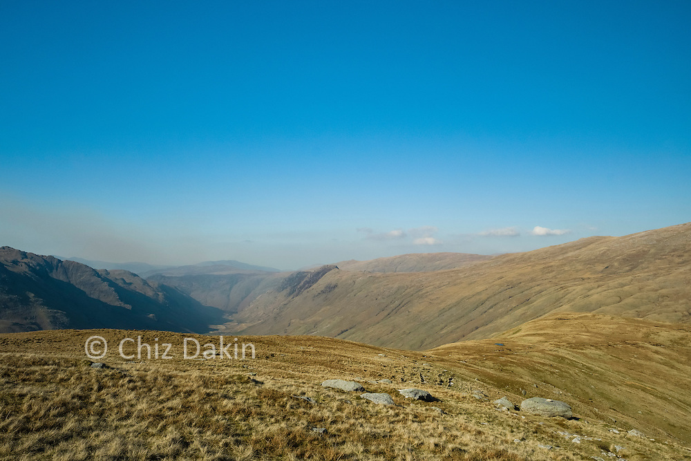 The shapely valley of Langdale Combe