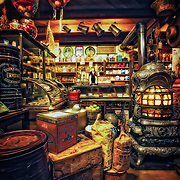 General store interior on the Streets of Old Milwaukee.