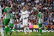 Cristiano Ronaldo after fails a shot