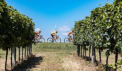 09.07.2016, Wien, AUT, Ö-Tour, Österreich Radrundfahrt, 7. Etappe, Bad Tatzmannsdorf nach Wien/Kahlenberg, im Bild Jan Hirt (CZE, CCC Sprandi Polkowice) // Jan Hirt (CZE CCC Sprandi Polkowice) during the Tour of Austria, 7th Stage from Bad Tatzmannsdorf to Vienna/Kahlenberg Wien, Austria on 2016/07/09. EXPA Pictures © 2016, PhotoCredit: EXPA/ JFK