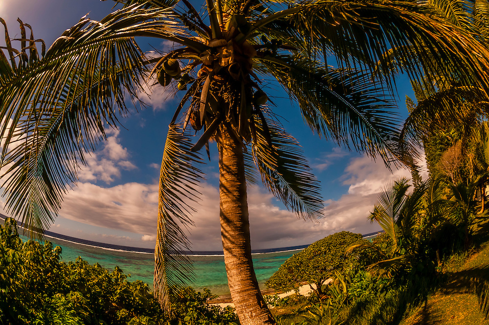 Hotel Nengone Village, island of Mare, Loyalty Islands, New Caledonia
