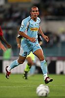 Roma 26/9/2004 Campionato Italiano Serie A 2004/2005 4a giornata - Matchday 4 <br /> <br /> Lazio Milan 1-2<br /> <br /> Paolo Di Canio Lazio<br /> <br /> foto Andrea Staccioli Graffiti