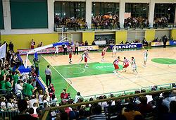Arena Leon Stukelj during basketball match between KK Krka (SLO) and Crvena Zvezda (SRB) in 7th Round of NLB Adriatic League, on November 7, 2010 in Arena Leona Stuklja, Novo mesto, Slovenia. Krka defeated Crvena Zvezda 89 - 76. (Photo By Vid Ponikvar / Sportida.com)