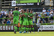 Forest Green Rovers v Colchester United 140919