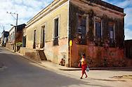 Street in Gibara,Holguin,Cuba.