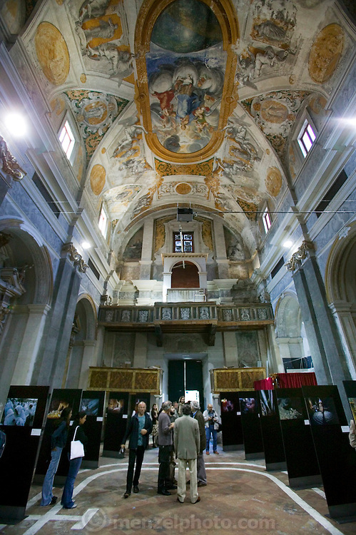 Photo Exhibition in Viterbo, Italy. (First International Biennial of Photography on Science and Culture).
