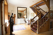 The front hallway at The Old Rectory, Chumleigh, Devon <br /> CREDIT: Vanessa Berberian for The Wall Street Journal<br /> LUXRENT-Nanassy/Chulmleigh