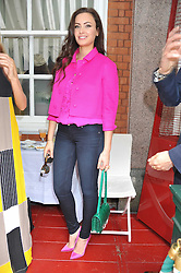 CAMILLA AL FAYED at a lunch to celebrate the the Lulu & Co Autumn/Winter 2011 collection held at Harry's Bar, 26 South Audley Street, London W1 on 21st June 2011.