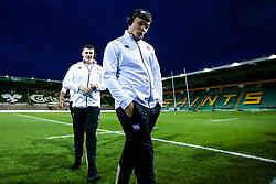 Aaron Hinkley of England U20 - Mandatory by-line: Robbie Stephenson/JMP - 15/03/2019 - RUGBY - Franklin's Gardens - Northampton, England - England U20 v Scotland U20 - Six Nations U20