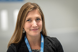 2 December 2019, Madrid, Spain: North Lutheran World Federation delegate Erika Rodning from the Evangelical Lutheran Church in Canada during day one of COP25 in Madrid.