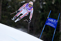 10.02.2011, Kandahar, Garmisch Partenkirchen, GER, FIS Alpin Ski WM 2011, GAP, Herren Abfahrtstraining, im Bild Guillermo Fayed (FRA) takes to the air competing in the first men's downhill training run on the Kandahar race piste at the 2011 Alpine skiing World Championships, EXPA Pictures © 2011, PhotoCredit: EXPA/ M. Gunn