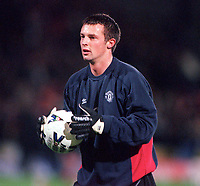 Paul Rachubka (Manchester United) 31/10/2000 Watford v Manchester United. Worthington cup 3rd rd. Credit: Andrew Cowie / Colorsport.
