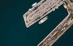 THEMENBILD - Boote im Hafen, aufgenommen am 14. August 2019 in Rijeka, Kroatien // Shipsin the Habor of Rijeka, Croatia on 2019/08/14. EXPA Pictures © 2019, PhotoCredit: EXPA/ JFK