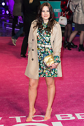 © Licensed to London News Pictures. 09/02/2016. London, UK. KAT SHOOB attends the UK film premiere of 'How To Be Single'.  The film is about a woman writing a book about bacherlorettes who becomes embroiled in an international affair while researching abroad<br /> Photo credit: Ray Tang/LNP