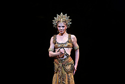 La Bayadere <br /> A ballet in three acts <br /> Choreography by Natalia Makarova <br /> After Marius Petipa <br /> The Royal Ballet <br /> At The Royal Opera House, Covent Garden, London, Great Britain <br /> General Rehearsal <br /> 30th October 2018 <br /> <br /> STRICT EMBARGO ON PICTURES UNTIL 2230HRS ON THURSDAY 1ST NOVEMBER 2018 <br /> <br /> <br /> <br /> Natalia Osipova as Gamzatti <br /> <br /> <br /> Photograph by Elliott Franks Royal Ballet's Live Cinema Season - La Bayadere is being screened in cinemas around the world on Tuesday 13th November 2018 <br /> --------------------------------------------------------------------