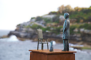 The world's largest free-to-the-public outdoor sculpture exhibition, Sculpture by the Sea, Bondi. .Peter Tilley, Domestic Bliss.