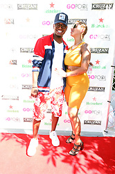 Ne-Yo, Crystal Renay at the KIIS FM Official Summer Pool Party Featuring a Special Live Performance By NE-YO at the Go Pool Dayclub, Flamingo Hotel & Casino, Las Vegas