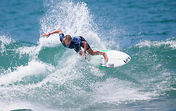 July 31, 2018 - Huntington Beach, California, United States - Huntington Beach, CA - Tuesday July 31, 2018: Ricardo Christie in action during a World Surf League (WSL) Qualifying Series (QS) Men's round of 96 heat at the 2018 Vans U.S. Open of Surfing on South side of the Huntington Beach pier. (Credit Image: © Michael Janosz/ISIPhotos via ZUMA Wire)