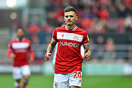 Jamie Paterson (20) of Bristol City during the EFL Sky Bet Championship match between Bristol City and Derby County at Ashton Gate, Bristol, England on 27 April 2019.