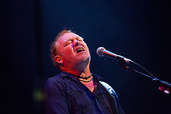 @Licensed to London News Pictures 30/06/17. Brighton folk/punk band Levellers perform at the Assembly Halls in Tunbridge Wells in Kent. They are now working on a new album and touring the UK and Europe.  Photo credit: Manu Palomeque/LNP