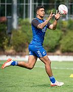HONG KONG, CHINA - APRIL 03:, Regan Ware joins training at So Kon Po Recreation Ground, Causeway Bay Hong Kong, Hong Kong SAR, China on April 03, 2017. New Zealand sevens rugby training
