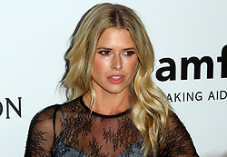 13 October 2017 - Beverly Hills, California - Sarah Wright. 2017 amfAR Gala Los Angeles held at Green Acres Estate in Beverly Hills. Photo Credit: AdMedia