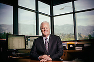 Rich Harris, President of Caltech Employees Federal Credit Union in La Canada Flintridge California on Thursday, April 21, 2016.(Photo by Sandy Huffaker)