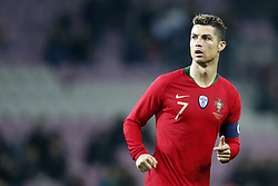 Cristiano Ronaldo of Portugal during the International friendly match match between Portugal and The Netherlands at Stade de Genève on March 26, 2018 in Geneva, Switzerland