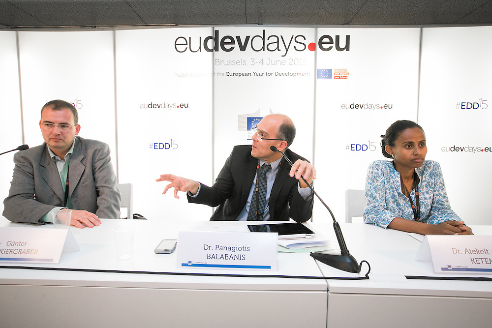 04 June 2015 - Belgium - Brussels - European Development Days - EDD - Climate - A plan for safer water supplies and sanitation in Africa © European Union