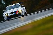 Jörg Müller, Bill Auberlen and Jonathan Summerton, BMW Team RLL (GT) BMW E92 M3, Petit Le Mans. Oct 18-20, 2012. © Jamey Price