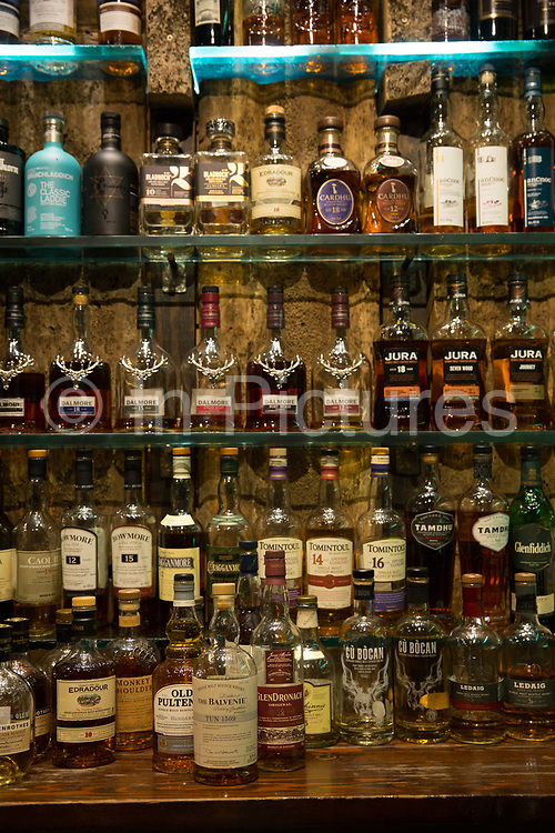 The Ben Nevis whiskey bar on the 2nd November 2018 in Glasgow in the United Kingdom.