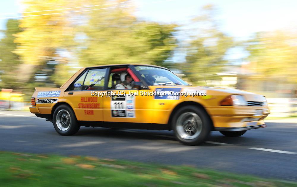 Charlie Hughes & Mary Hughes .1982 Ford XE Falcon.Day 1.Targa Tasmania 2009.29th of April 2009.(C) Joel Strickland Photographics.