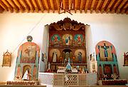 SPANISH MISSION, NEW MEXICO San Jose de Gracia in Las Trampas