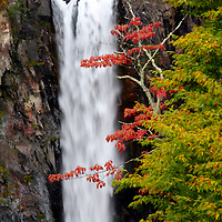 Asia, Japan, Nikko. Kegon waterfall of Nikko, a UNESCO World Heritage Site.